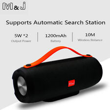 Portable Bluetooth Speaker Wireless Stereo TF FM Radio Music Subwoofer Speakers