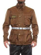 BELSTAFF NEW RALLYMASTER PEARL BROWN 710062 light spring/summer jacket man