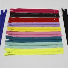 2 units / lot 23 CM Length nylon zipper Invisible zipper bobbin