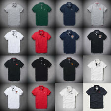 BNWT AF Mens Muscle Fit  Abercrombie & Fitch Polo shirt by Hollister top in UK