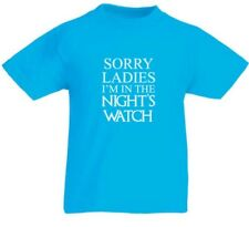 Sorry Donna i'M Nel Night's Watch, per Bambini T-Shirt Stampata