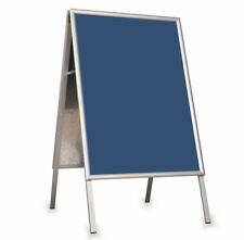Pavement Sign Snap Frame A-BOARD for Posters DWA OWZ Aluminium A2