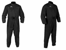 Oxford Rain Seal Half Lined Over Suit Black for Motorcycle Motorbike
