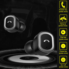 Mini Twins Wireless Bluetooth Headphones Stereo Headset In-Ear Earbuds with MIC
