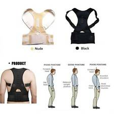 Posture Corrector Magnet Therapy Back Support Brace Adjustable Lumbar Belt