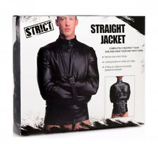 Sex Camicia di forza Straight Jacket Strict Bondage Fetish BDSM Giacca UNISEX