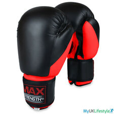 Punch Guantes de Boxeo Entrenamiento Mma Combate Punching Fight Kick Boxing