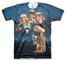 Officially Licensed E.T. The Extra Terrestrial Allover T-Shirt S-XXL Sizes