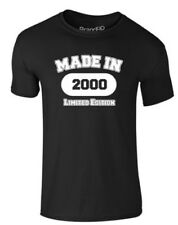 brand88 - MADE IN 2000, adulti T-SHIRT STAMPATA