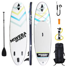 Stand Up Paddle Sup Board Surf Tavola Gonfiabile 305 & 325cm 15cm Pagaiare