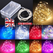LED String Fairy Lights Wedding Party Spring Battery Decor Christmas Party Home
