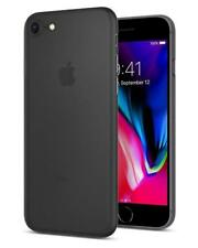Spigen Coque iPhone 8, [Air Skin] Ultra Fine [Noir] Premium semi-transparent...