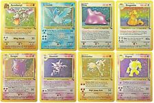 Pokemon Official Trading Cards Uncommon & Common Fossil Collection Set 31-62 /62