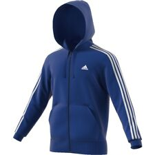 Adidas Ess 3 Strisce Full Zip Hood French,Giacca Sportiva,Felpa ,Giacca, Cd8720