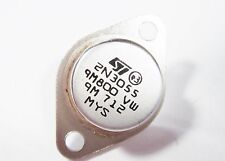 2N3055 POWER Transistor Si NPN 70V 15A 115W hFE:70 (TO3) #14T31%