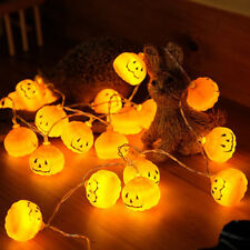 Halloween Pumpkin LED String Lights Battery Operation For Decoration Holiday-New