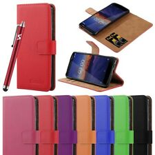 For Nokia 3.1 Phone Case Luxury Leather Magnetic Flip Card Wallet Stand Cover