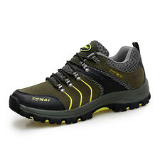 Men's Hiking Shoes Climbing Sneakers Outdoor Trail Trekking Sneakers Breathable