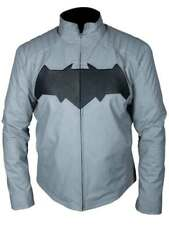 Leather jacket for men batman dark knight arkham knight joker biker moto top