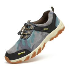 Mens Hiking Shoes Climbing Shoes Outdoor Trail Trekking Sneakers Breathable