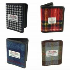 100% Harris Tweed Credit Card Holder Wallet Available In Various Colours LB2006
