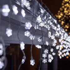Snowflake String Light 3m 20led Battery Wedding Party Decor Christmas Lamps