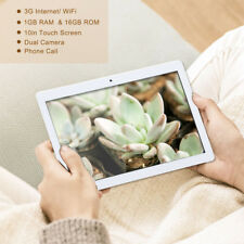 10 Inch 3G/ WiFi 1GB RAM + 16GB ROM Doble Cámara GPS Tableta PC para Android