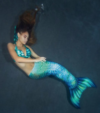 Key Largo Mermaid Tail For Adults With Monofin For Swimming by Mertailor