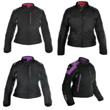 Oxford Girona 1.0 Donna Termico Impermeabile Moto Scooter Giacca Nera