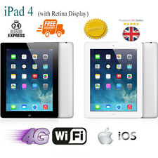 Nuevo Apple Ipad 4 Tableta 9.7 Pulgadas 16GB 32GB 64GB Wifi y Celular 4G Modelo