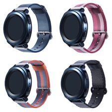 22MM Woven Nylon Sport Watch Band Bracelet for Samsung Gear S3 Frontier/Classic