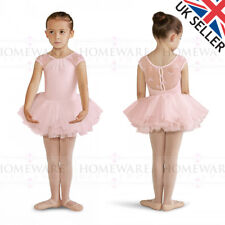 5e5d738b7 GIRLS BLOCH DANCE CAP SLEEVE LEOTARD sequin swirl tulle ...
