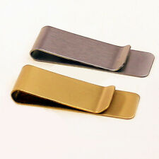 1Pc/Set Cute Solid Brass Money Clip Metal Banknote Holder Brass Bookmark HolderY