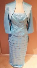 Mother of the Bride/Groom Dress, Formal Gowns, Evening Party Wear w/Jacket 16,22