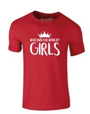brand88 - CHI Run the World? ragazze, bambini t-shirt stampata