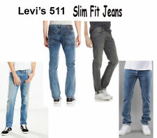 Brand New Original Levis 511 Slim Fit Jeans For Men -Multi Colors