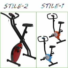Cyclette Pieghevole Magnetica Con Display LCD Fitness Palestra Bicicletta Sport#