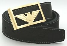 MENS DESIGNER BELTS LUXURY FALCON BUCKLE LEATHER H BELT FOR MEN GIFT FASHION