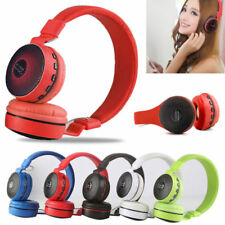 CUFFIA CUFFIE WIRELESS SENZA FILI BLUETOOTH FM RADIO TF MP3 Mic Headset MS-661