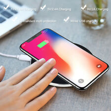 Wireless Phone Charger For iPhone 8 / 8 Plus / X Qi For Samsung Galaxy S7 Note