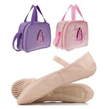 BRAND NEW ROCH VALLEY BALLET SHOES AND DANCE BAG SET DANCING CHRISTMAS GIFT