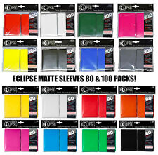 ULTRA PRO-MATTE ECLIPSE STANDARD CARD SLEEVES DECK PROTECTORS POKEMON, MTG SIZE