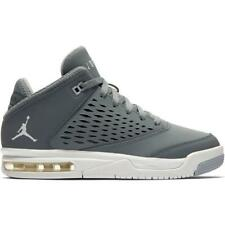 84381341c791a9 Juniors NIKE JORDAN FLIGHT ORIGIN 4 BG Cool Grey Trainers 921201 004