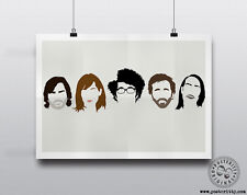 THE IT CROWD - Minimalist Comedy Heads Minimal Movie Poster Posteritty Hair Art
