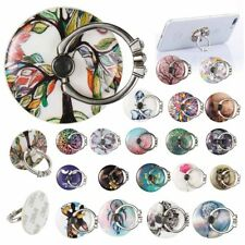 New 360° Rotating Finger Grip Ring Stand Holder for All Mobile Phones Tab Phones