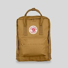 Fjallraven Unisex New Kanken 16 Litre Vinylon Backpack Acorn Brown