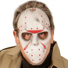 Fancy Dress Exclusive Jason Mask Latex Face Fitted Elasticated Halloween Movie