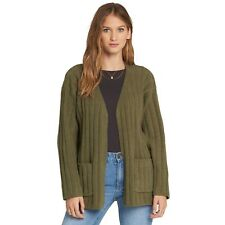 Billabong Just Relax Cardigan - Olive - Ladies Cardigans