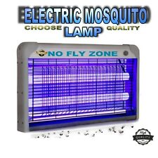 UV ELECTRIC FLY KILLER 30W BUG ZAPPER GRID KILLING FLY INSECT WASP PEST TRAP UK