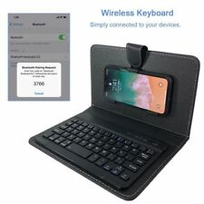 Wireless Keyboard Phone Case for iPhone Protective with Bluetooth Keyboard for i